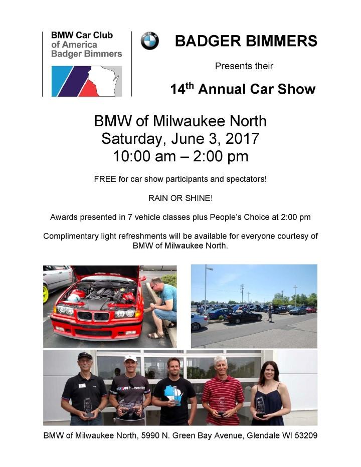 2017 14th Annual BMW Car ShowBadger Bimmer
